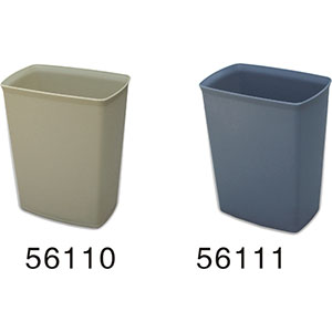 56110 8L grained fireproof dustbin