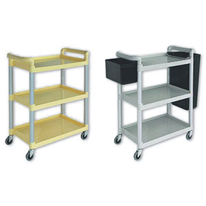 95121	Small dinner trolley with bucket